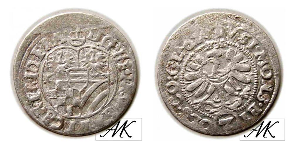 3 krajcary 1620 BH